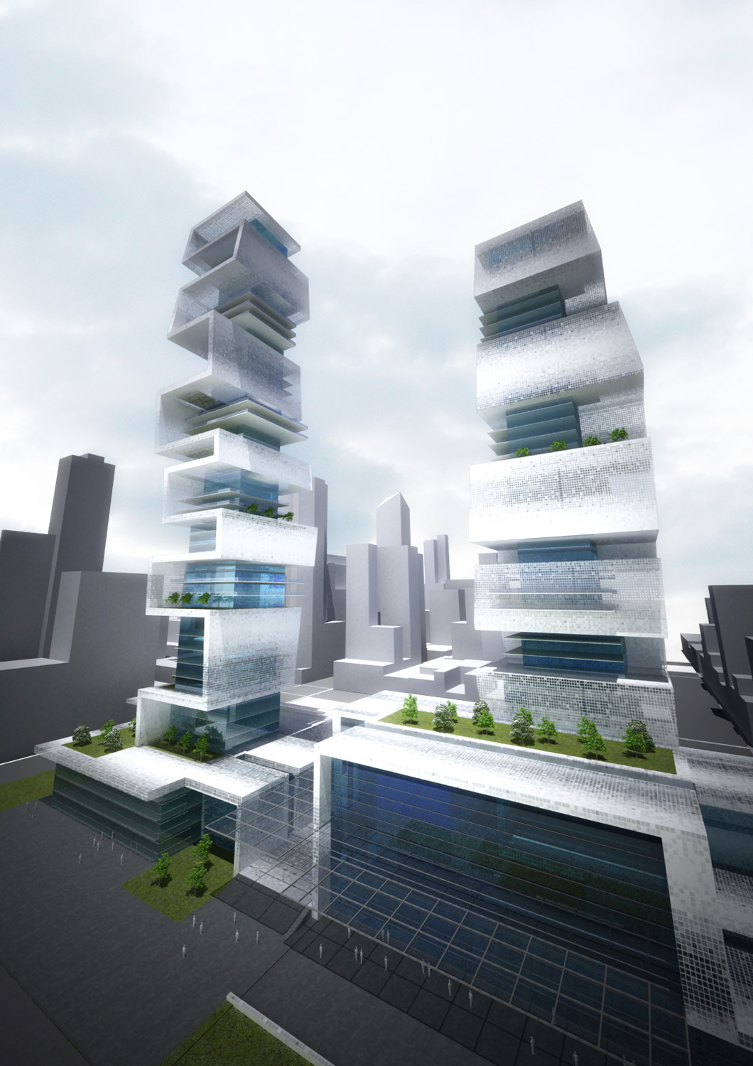 Mixed Use Towers  - 5