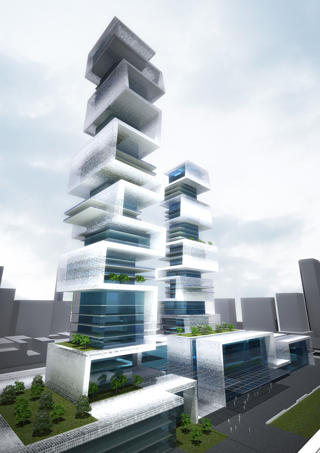 Mixed Use Towers  - 2