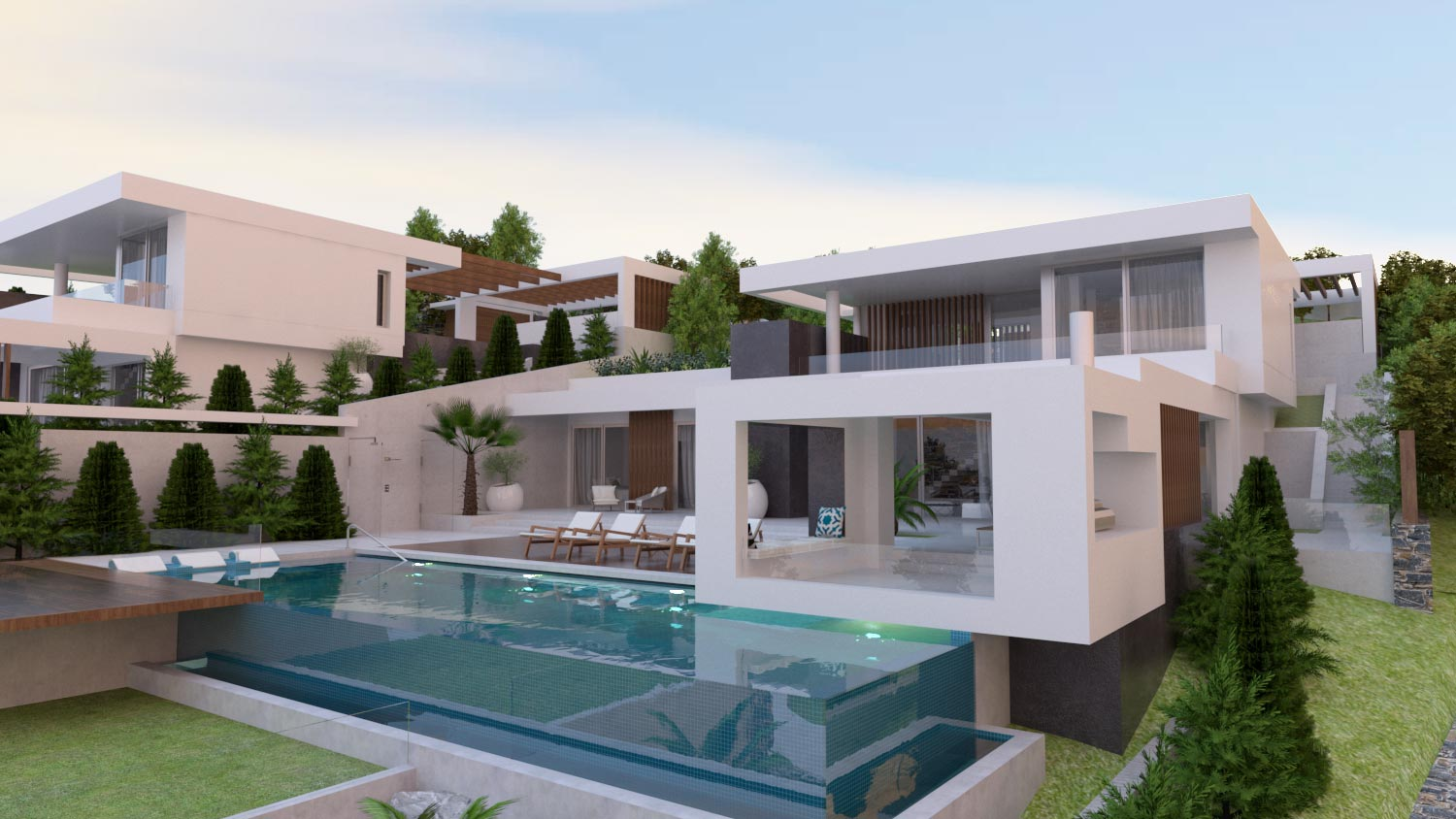 Two Villas in Agia Pelagia - 2